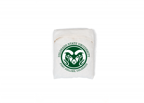 Folded UnEARTH Netted Bag with CSU Pocket Logo'd